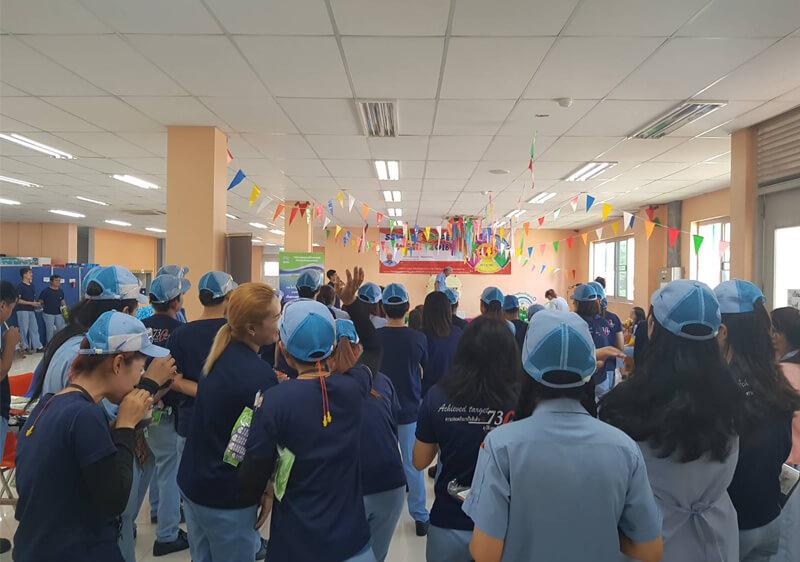 ออกบูธงาน Safety Day บริษัท ซูมิเดน สตีล ไวร์ (ประเทศไ...