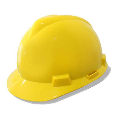 หมวกนิรภัย C- MSA V-Gard® ANSI(USA) ต้องซื้อสายรัดคางแยกต่างหาก