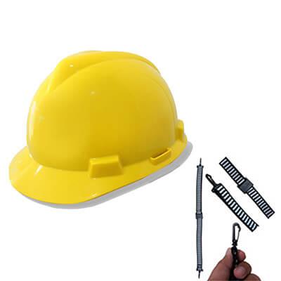 หมวกนิรภัย C- MSA V-Gard® ANSI(USA) มาพร้อมสายรัดคาง 2P