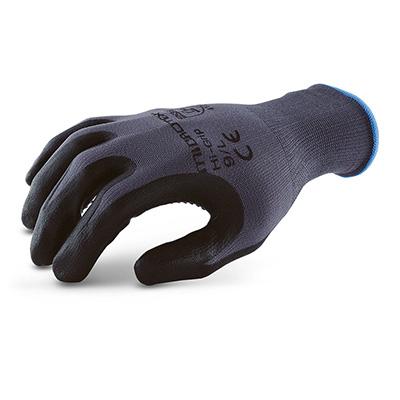 ถุงมือถักเคลือบไมโครโฟมไนไตร ดอท รุ่น MICROTEX®️ HI-GRIP DOT (M)