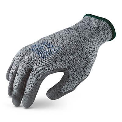 ถุงมือกันบาดเคลือบพียู รุ่น MICROTEX®️ HI-CUT PU [XL] (บรรจุ 1 คู่)