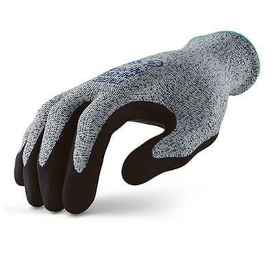 ถุงมือกันบาดเคลือบไนไตร รุ่น MICROTEX®️ HI-CUT NITRILE GRIP [XL] (บรรจุ 1 คู่)