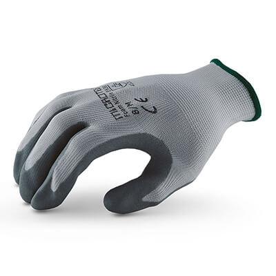 ถุงมือถักเคลือบโฟมไนไตร รุ่น MICROTEX®️ FOAM NITRILE [L] (บรรจุ 1 คู่)