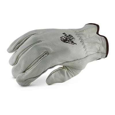 ถุงมือหนังผิววัว Cow Grain Leather Gloves [L] (บรรจุ 1 คู่)