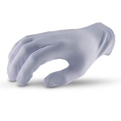ถุงมือผ้า MICROTEX พับริม [XXL] (บรรจุ 12 คู่)
