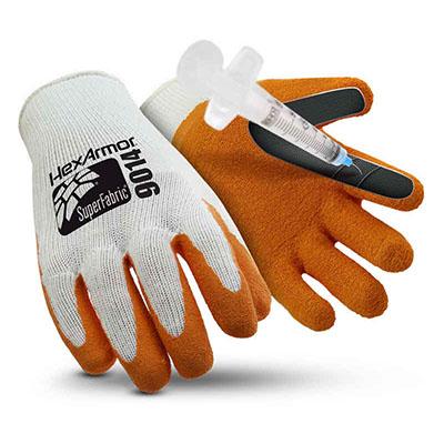 HexArmor SharpsMaster 9014 Needlestick Gloves [L] (บรรจุ 1 คู่)