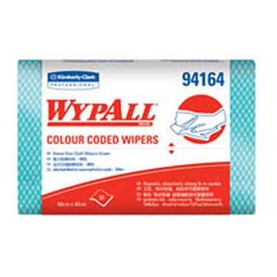 ผ้าเช็ดอเนกประสงค์ WYPALL* Colour Coded Regular Duty Wipers [สีเขียว] (บรรจุ 20 ชิ้น)