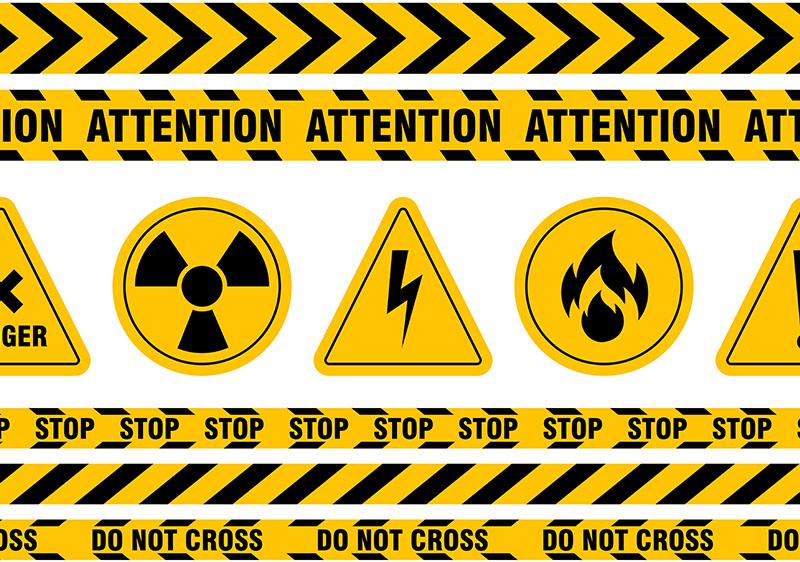 การใข้สีกับสัญลักษณ์ในงานความปลอดภัย เพื่อความปลอดภัย