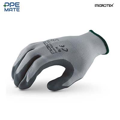 MICROTEX FOAM NITRILE ถุงมือถักเคลือบโฟมไนไตร