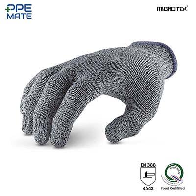 MICROTEX HI-CUT ถุงมือกันบาด