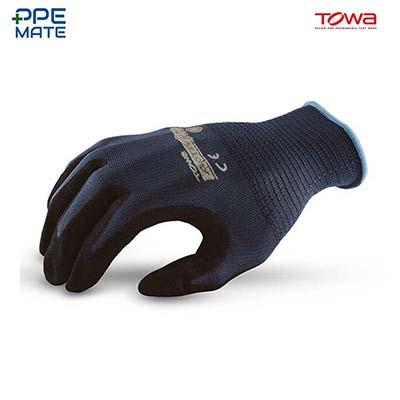 TOWA AG518 ถุงมือถักเคลือบไนไตร