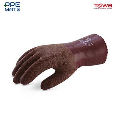 TOWA 169 Cold Resistant ถุงมือยางธรรมชาติ