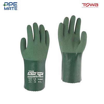 TOWA ActivGrip 566 ถุงมือยางไนไตร