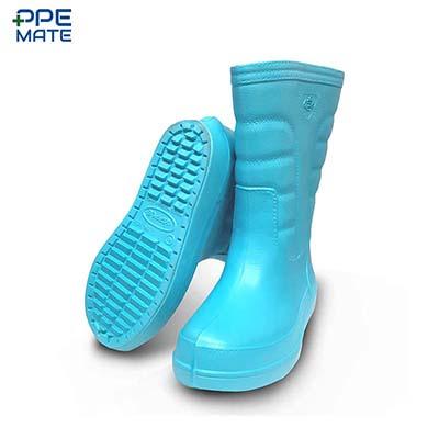 Red Apple SK103 รองเท้าบู๊ท 13 นิ้ว สีฟ้า