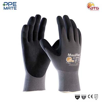ATG MaxiFlex Ultimate ถุงมือถักเคลือบไนไตร